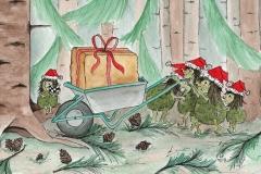 Die Rumpelwichte im Weihnachtsstress